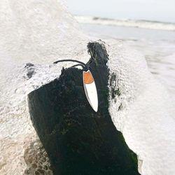 Silver+Surf Silber Schmuck Surfboard Pad Holz Gr L – Bild 4