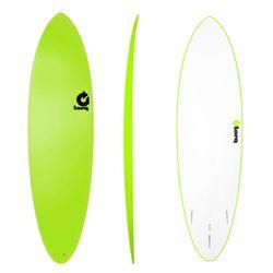 Surfboard TORQ Softboard 6.8 Funboard Grün – image 1