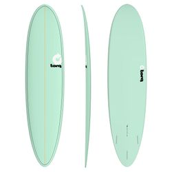 Surfboard TORQ Epoxy TET 7.6 Funboard Seagreen – image 1