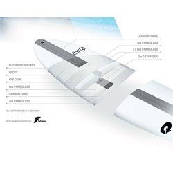 Surfboard TORQ Epoxy TEC M2  7.6 – Bild 2