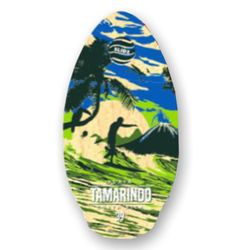 Skimboard SLIDZ 39  100cm Tamarindo Green Orange – Bild 1