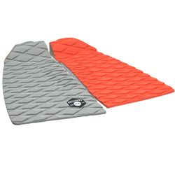 KOALITION Footpad Deck Grip BARREL Orange-Grau 2pc – image 3