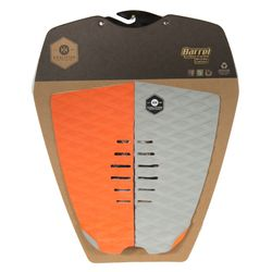 KOALITION Footpad Deck Grip BARREL Orange-Grau 2pc – image 4