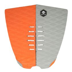 KOALITION Footpad Deck Grip BARREL Orange-Grau 2pc – image 1