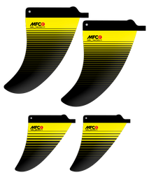 Quad CENTER Fins RV1 - MFC Finnen Set (L&R) – Bild 2