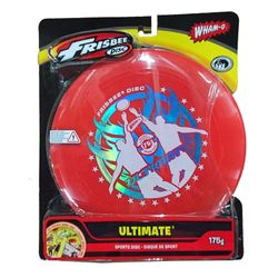 WHAM-O FRISBEE Wurfscheibe Ultimate 175g Rot – Bild 2