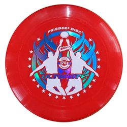 WHAM-O FRISBEE Wurfscheibe Ultimate 175g Rot – Bild 1