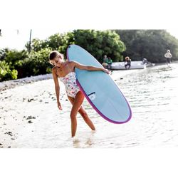 Surfboard TORQ Epoxy TET 7.6 Funboard  Pinlines – Bild 6
