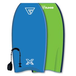 FLOOD Bodyboard Dynamx Stringer 42 Grün-Gelb