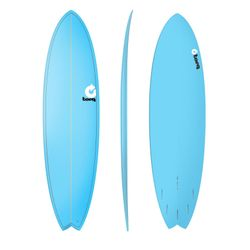 Surfboard TORQ Epoxy TET 7.2 Fish Blue – Bild 1