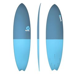 Surfboard TORQ Epoxy TET 7.2 Fish FiftyFifty – Bild 1