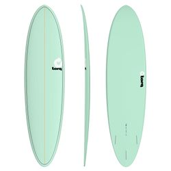 Surfboard TORQ Epoxy TET 7.2 Funboard  Seagreen – image 1