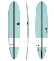 Surfboard TORQ Epoxy TEC The Don 9.0 tint green