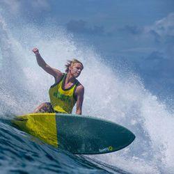 Surfboard TORQ Softboard 7.2 Fish Blue – Bild 5