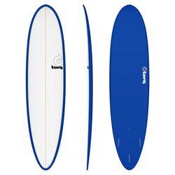 Surfboard TORQ Epoxy TET 7.6 Funboard White Blue