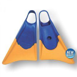 Bodyboard Flosse CHURCHILL Makapuu M Blue Yellow – Bild 1