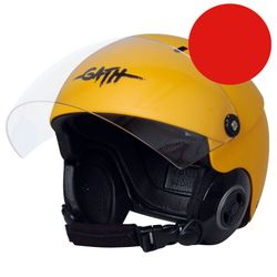 GATH Helm RESCUE Safety Red matt Gr M – Bild 2