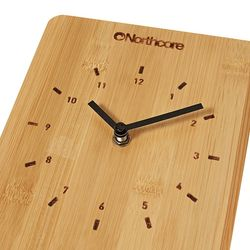 Northcore Time and Tide Bamboo Wall Clock – image 2