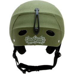 "Protec ""ACE Freecarve"" Helm, Green Fabric – image 2"