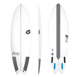 Surfboard TORQ Epoxy TEC Fish 5.10 – image 1