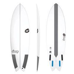 Surfboard TORQ Epoxy TEC Fish 6.6 – Bild 1