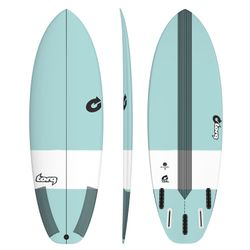 Surfboard TORQ Epoxy TEC Summer 5  5.4 seagreen – Bild 1