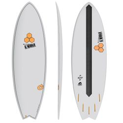 Surfboard CHANNEL ISLANDS X-lite Pod Mod 6.6 grau – image 2