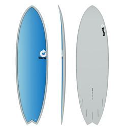 Surfboard TORQ Epoxy TET 6.3 Fish Full Fade – image 1