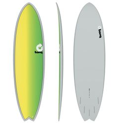 Surfboard TORQ Epoxy TET 6.10 Fish Full Fade – Bild 1