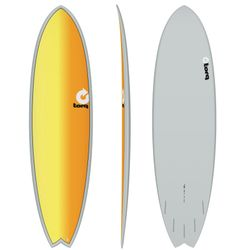 Surfboard TORQ Epoxy TET 7.2 Fish Full Fade – image 1