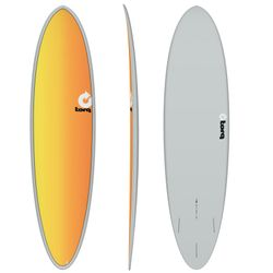 Surfboard TORQ Epoxy TET 7.2 Funboard Full Fade – image 1