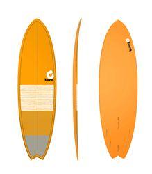 Surfboard TORQ Epoxy TET 6.3 Fish Lines – Bild 1