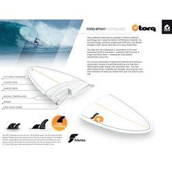 Surfboard TORQ Epoxy TET 6.6 Fish Lines – Bild 2