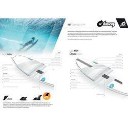 Surfboard TORQ Epoxy TET CS 6.8 Funboard Carbon – image 2