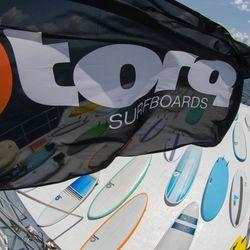 Surfboard TORQ Epoxy TET CS 6.8 Funboard Carbon – Bild 3