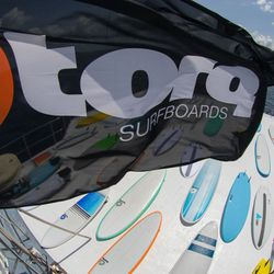 Surfboard TORQ Epoxy TET CS 7.6 Funboard Carbon – image 3