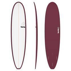 Surfboard TORQ Epoxy TET 8.0 Longboard White Burgu – Bild 1