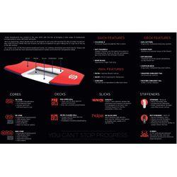 SNIPER Bodyboard Unit PE 42 Grau Rot – Bild 2