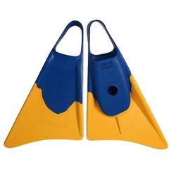 Bodyboard Flosse Weapon M 39-40,5 Blau Gelb