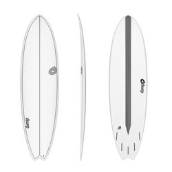 Surfboard TORQ Epoxy TET CS 7.2 Fish Carbon – image 1