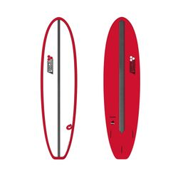Surfboard CHANNEL ISLANDS X-lite Chancho 7.6 Red – image 1