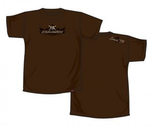 Naish T-Shirt Skull - Brown
