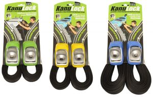 Kanulock Strap Snow/Surf/SUP/Tour - Lockable Tie-Downs (Set) – image 1