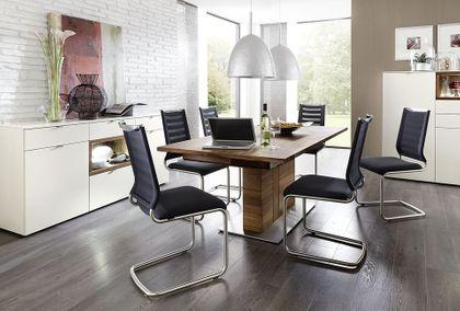 Venjakob Stuhl / Sessel Lilli 2229-17 TriTex / Edelstahloptik – Bild 5