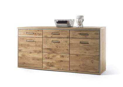 MCA Furniture Sideboard Espero Eiche Bianco ESP11T01