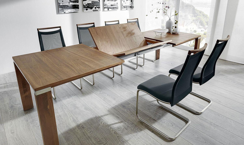venjakob esstisch multiflex breite 100 cm 1 klappeinlage 60 cm. Black Bedroom Furniture Sets. Home Design Ideas