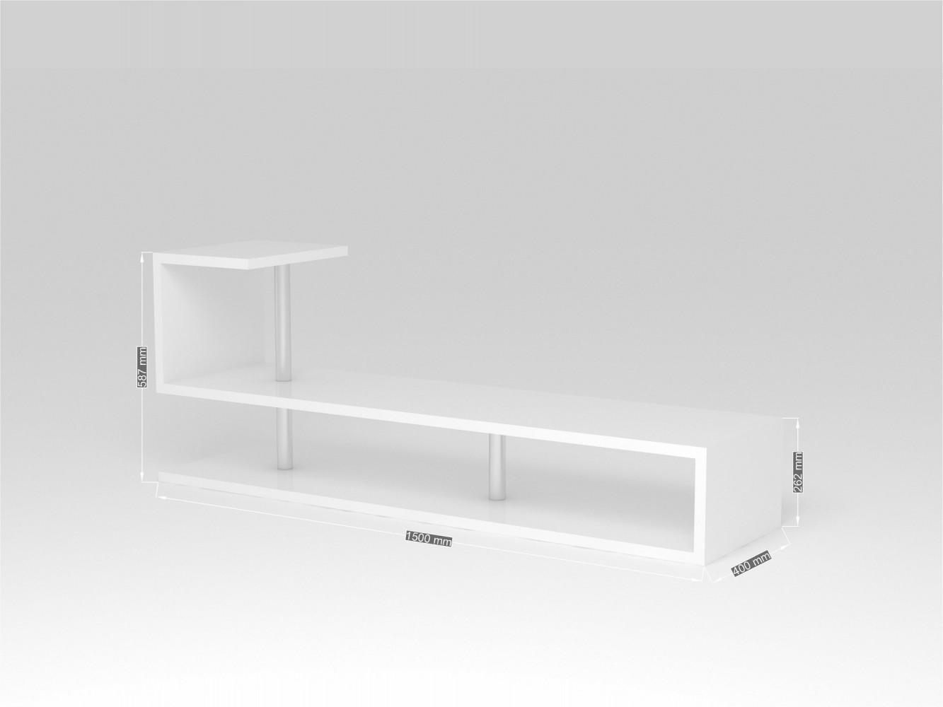 Tv lowboard weiß modern  Tecnos MODERN A TV Lowboard, Breite 150cm weiß