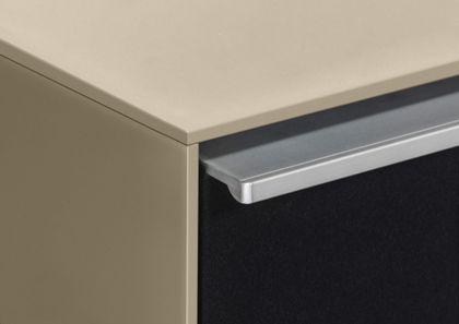 Maja Möbel Soundboard 140 cm Glas Schwarzglas matt 7736 - 4573 – Bild 6
