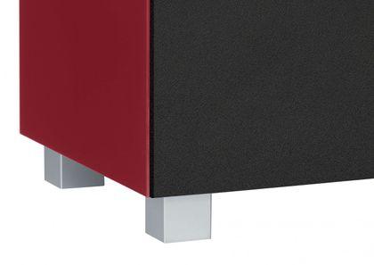 Maja Möbel Soundboard 140 cm Glas himbeerrot matt 7736 - 5373 – Bild 7