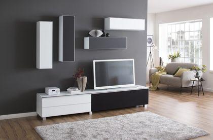 Maja Möbel Hängeschrank 25 cm  Weißglas matt 7782 - 3645 – Bild 2